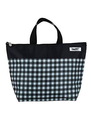 TempaMATE Thermal Insulated Lunch Bag- Black Gingham