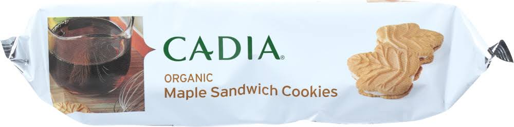 Cadia Organic Maple Sandwich Cookies 11.4 oz