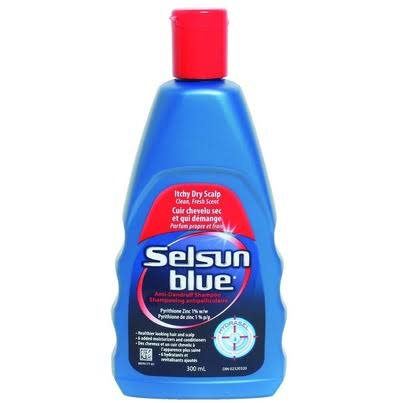 Selsun Blue Itchy Dry Scalp Shampoo - 300ml