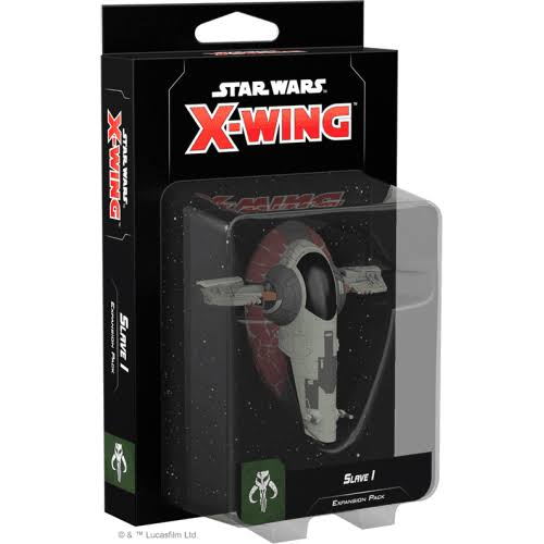Fantasy Flight Games Star Wars X-Wing 2nd Edition Slave I Expansion Pack