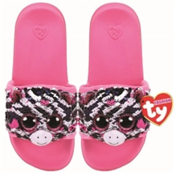 Zoey - Sequin Slides LRG - Ty Fashion