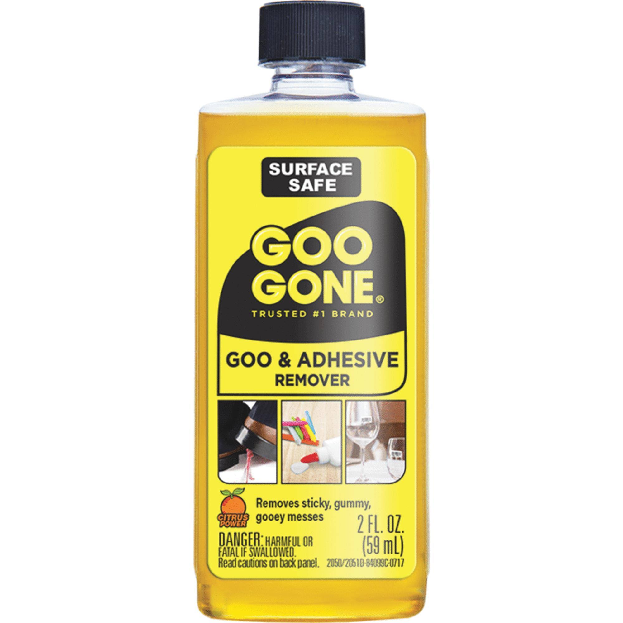 Goo Gone Remover Cleaner - Citrus Scent, 2 oz