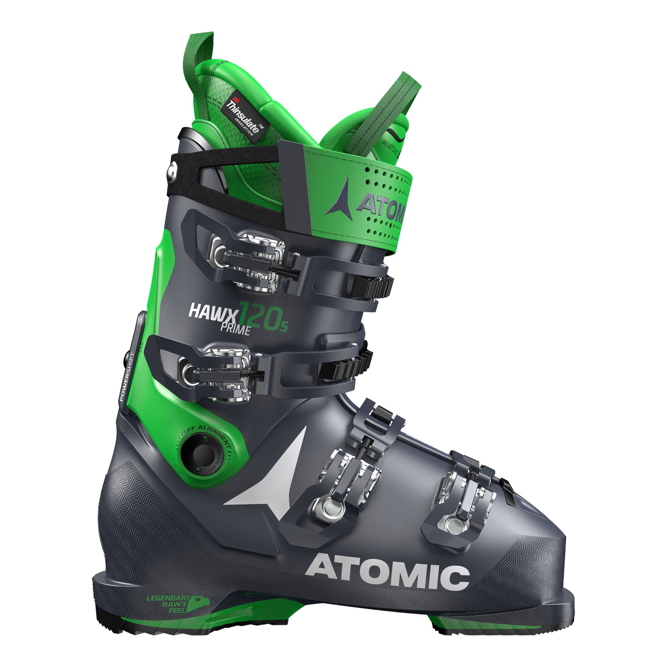 Ski Boot Atomic Hawx Prime 120 S Dark Blue/Green