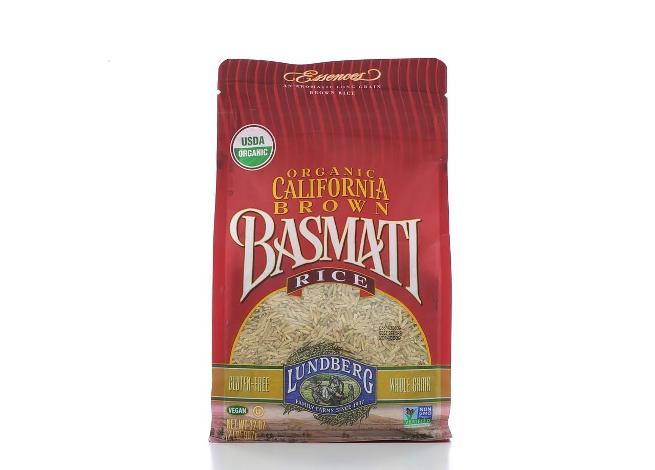 Lundberg Organic California Brown Basmati Rice - 907g
