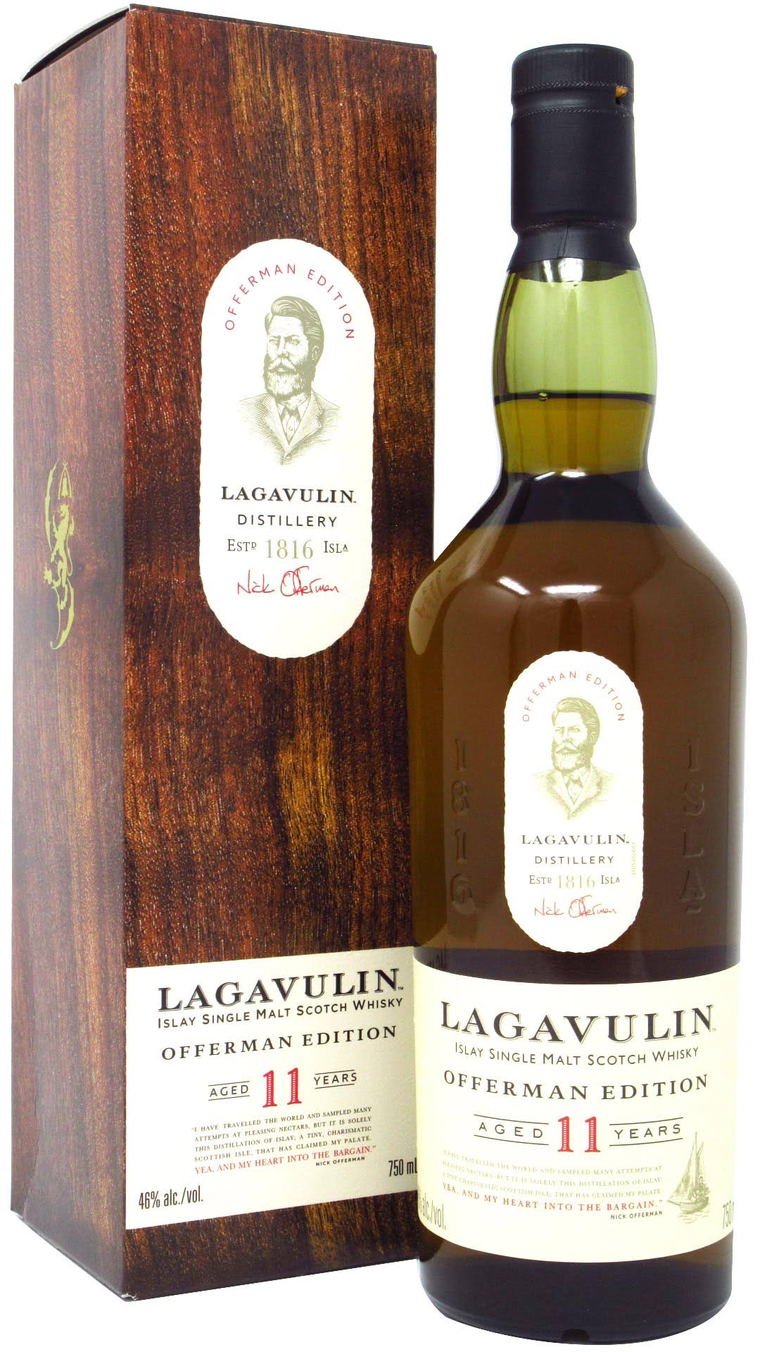 Lagavulin Offerman Edition 11 Year Single Malt Scotch 750 ml