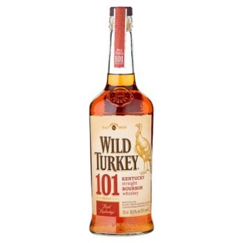 Wild Turkey 101 Bourbon Whiskey, 70 CL