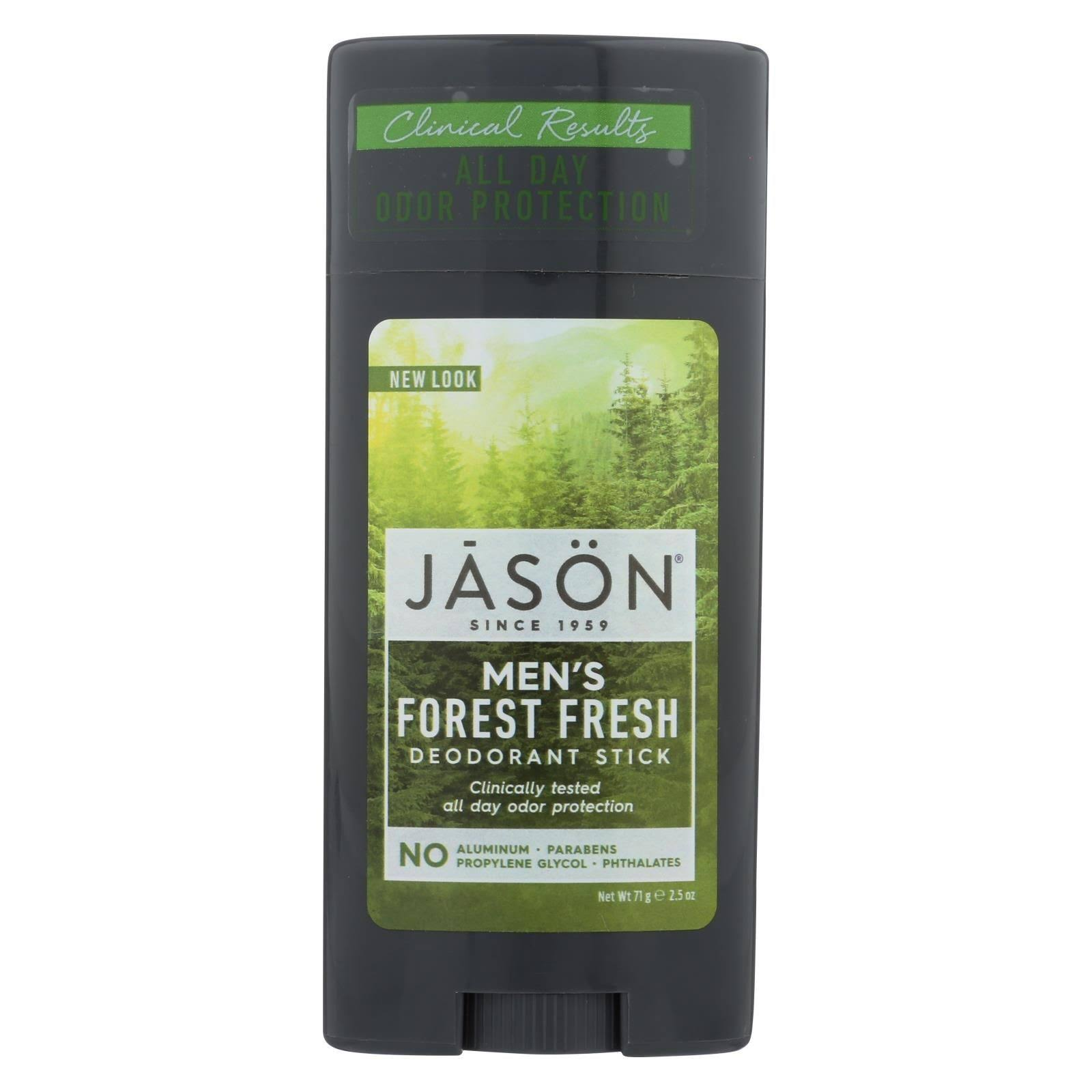 Jason Men Deodorant Stick - Forest Fresh, 2.5oz