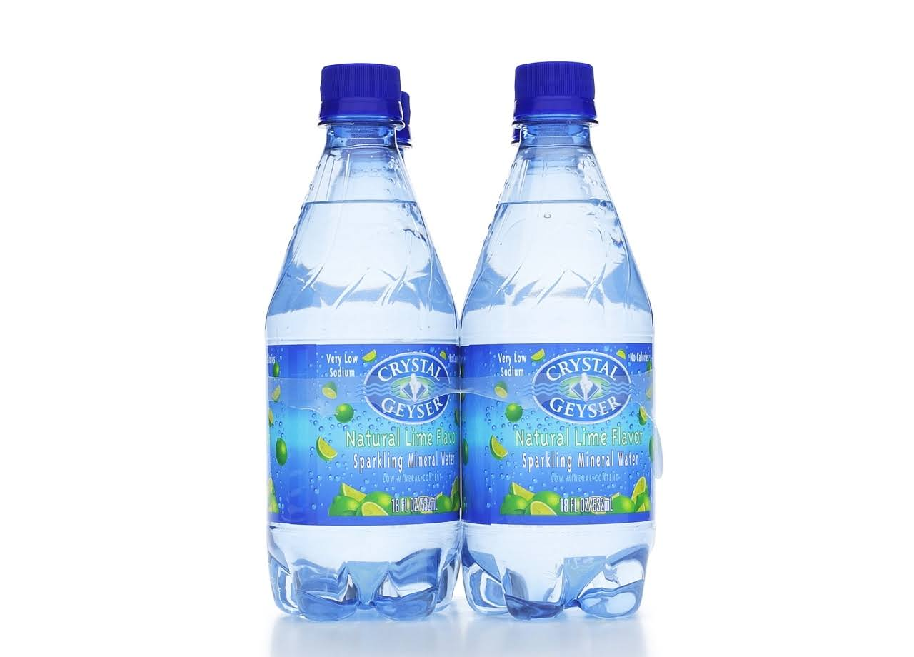 Crystal Geyser Mineral Water - Lime