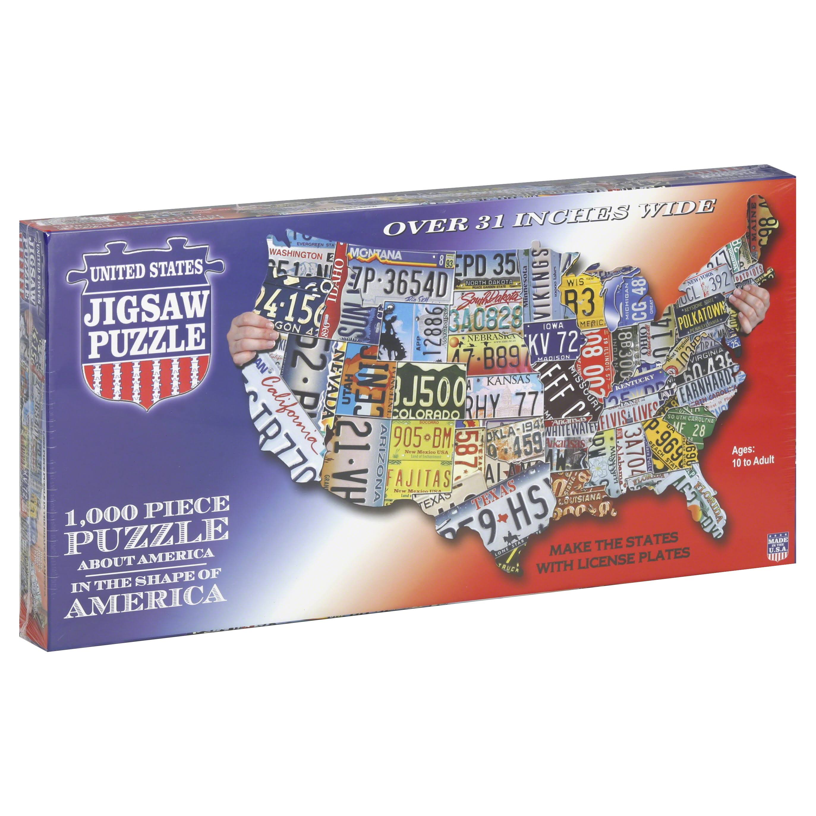TDC Puzzles Jigsaw Puzzle United States