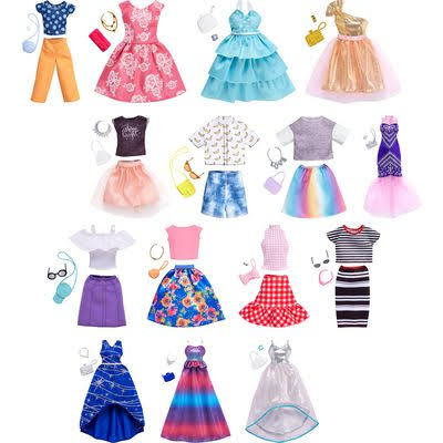 Barbie and Fashion Doll Play Set