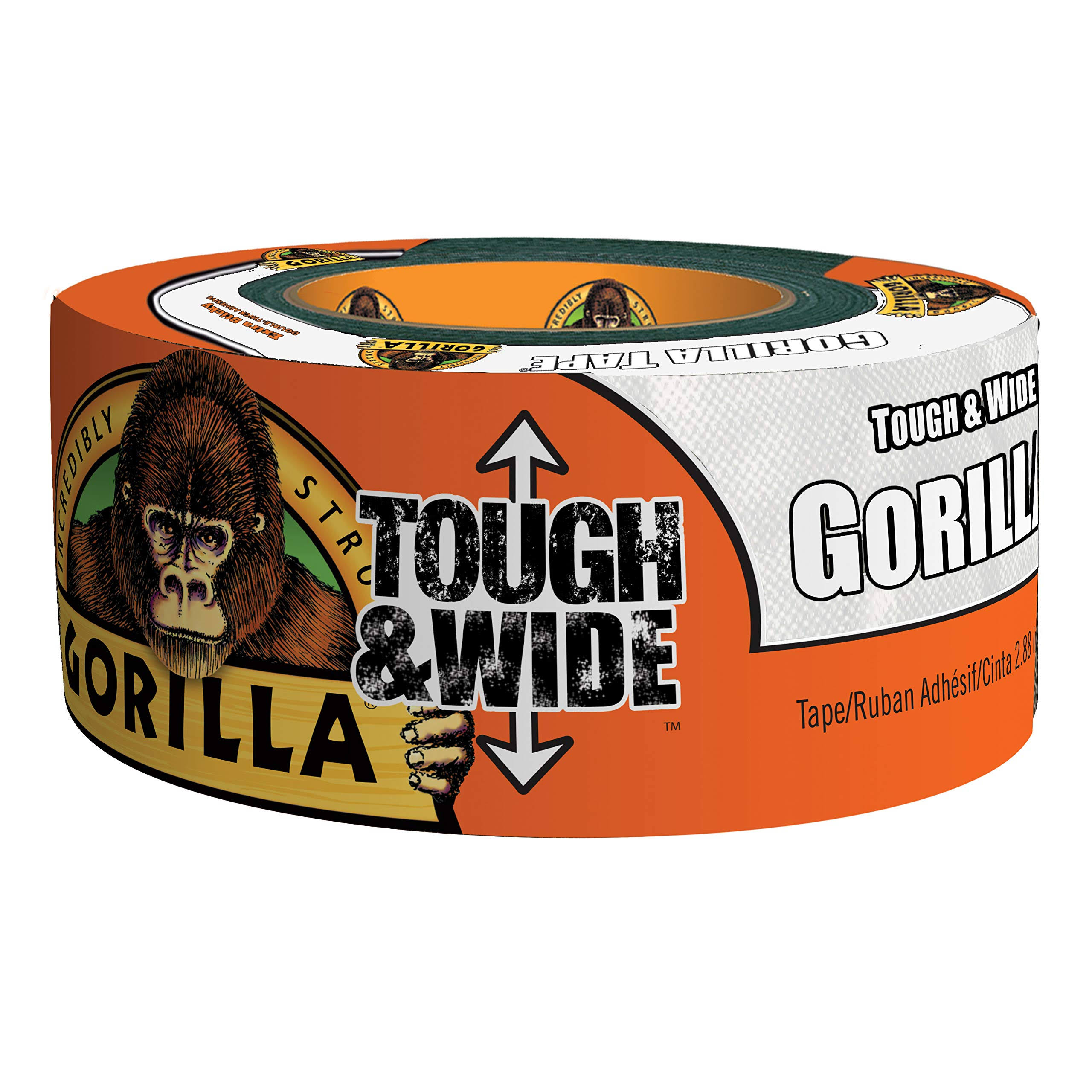 Gorilla Tough & Wide White Tape - 25yds