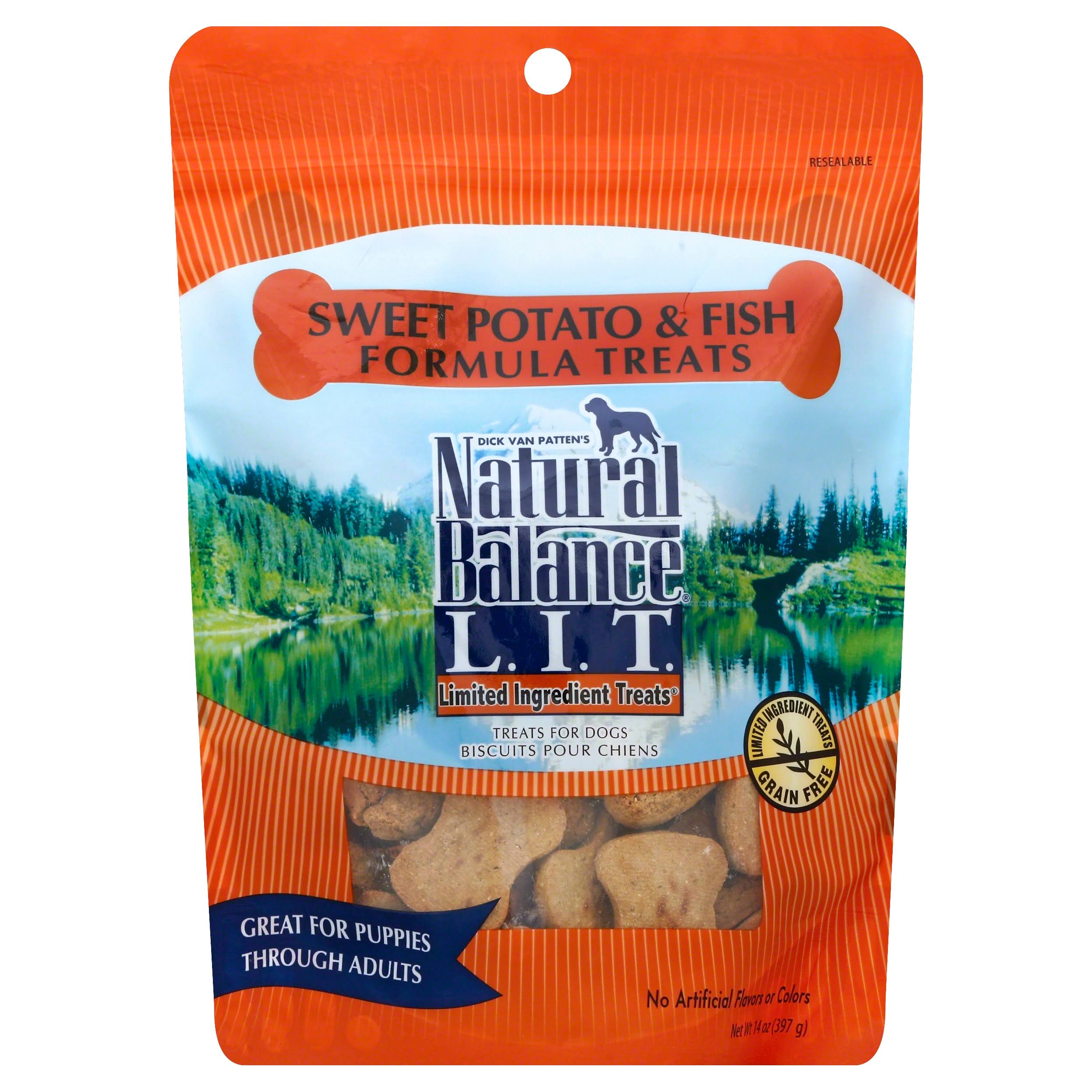 Natural Balance Formula Dog Treats - Sweet Potato & Fish, 14oz