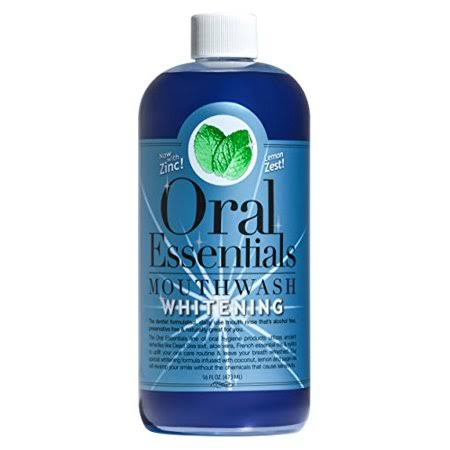 Oral Essentials Teeth Whitening Mouthwash - 473ml