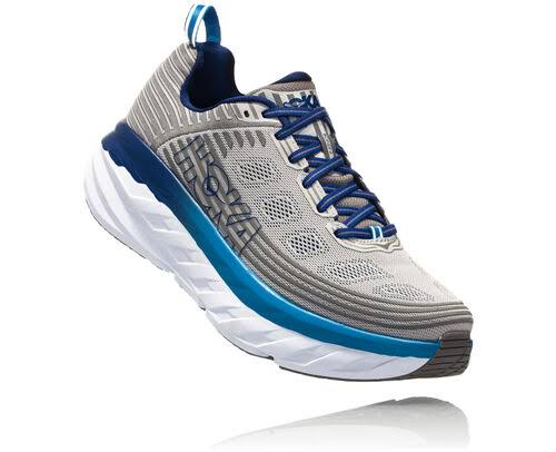 Hoka One One Men's Bondi 6 - Vapor Blue / Frost Gray - 10