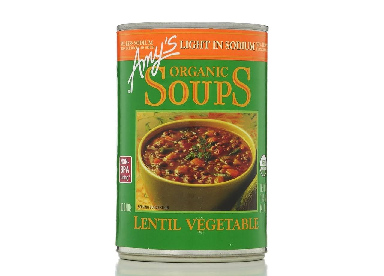 Amy's Organic Soups - Lentil Vegetable