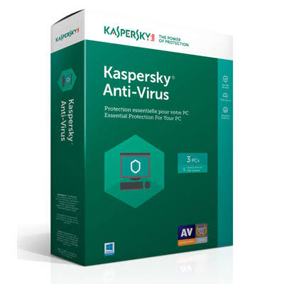 KL1171ABCFS-1712CZZ Kaspersky Antivirus 2019 for 3 Devices, 1 Year Key Code for Latest Edition 083832315719