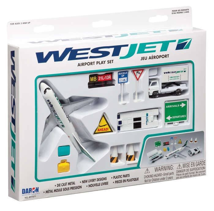 Daron Worldwide Trading Westjet Airport Play Set - 13pcs