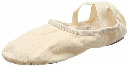 So Danca Sd16 Split Sole Canvas Ballet Shoe - Light Pink, Childs and Adults UK 8 Adult