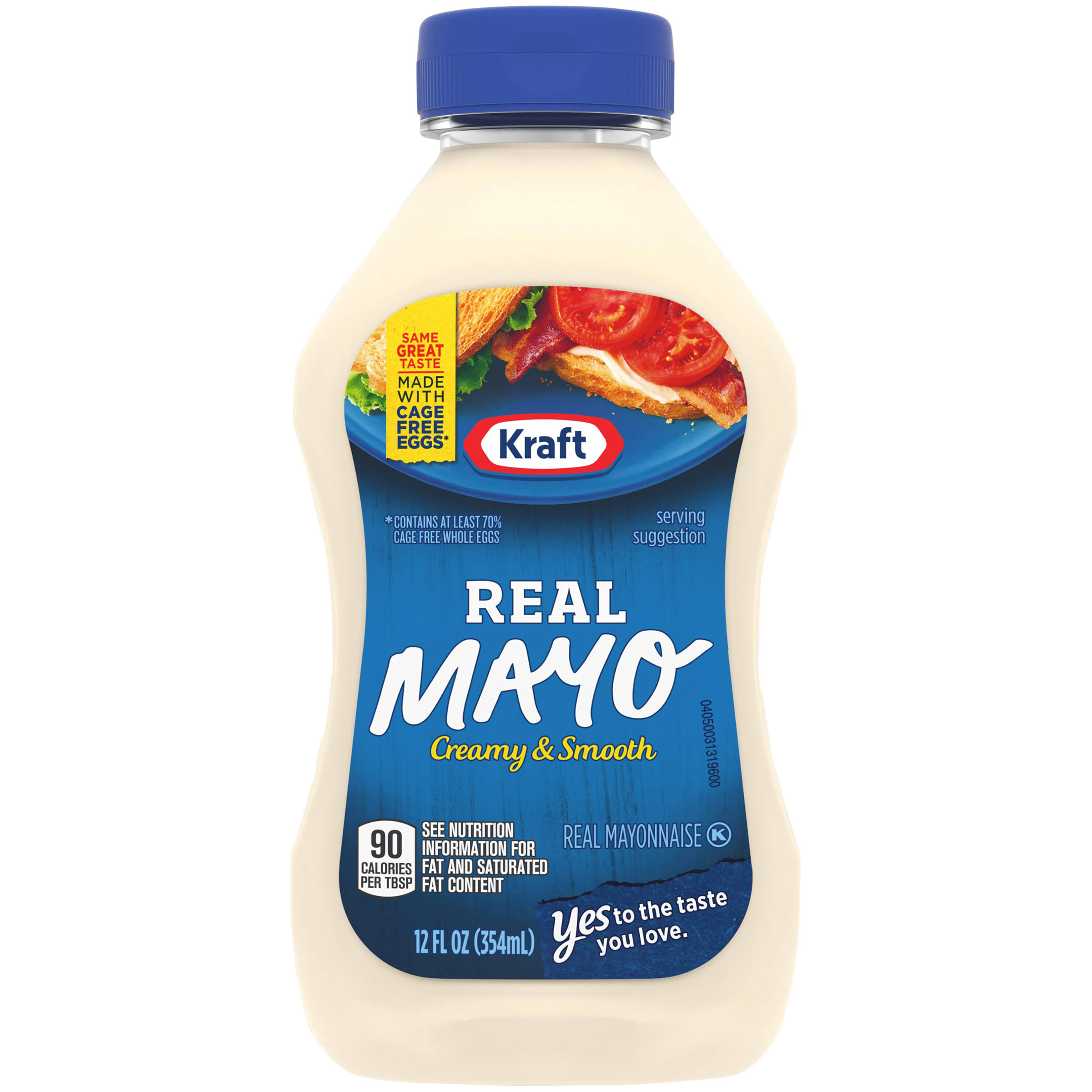 Kraft Real Mayonnaise Squeeze Bottle - 12oz