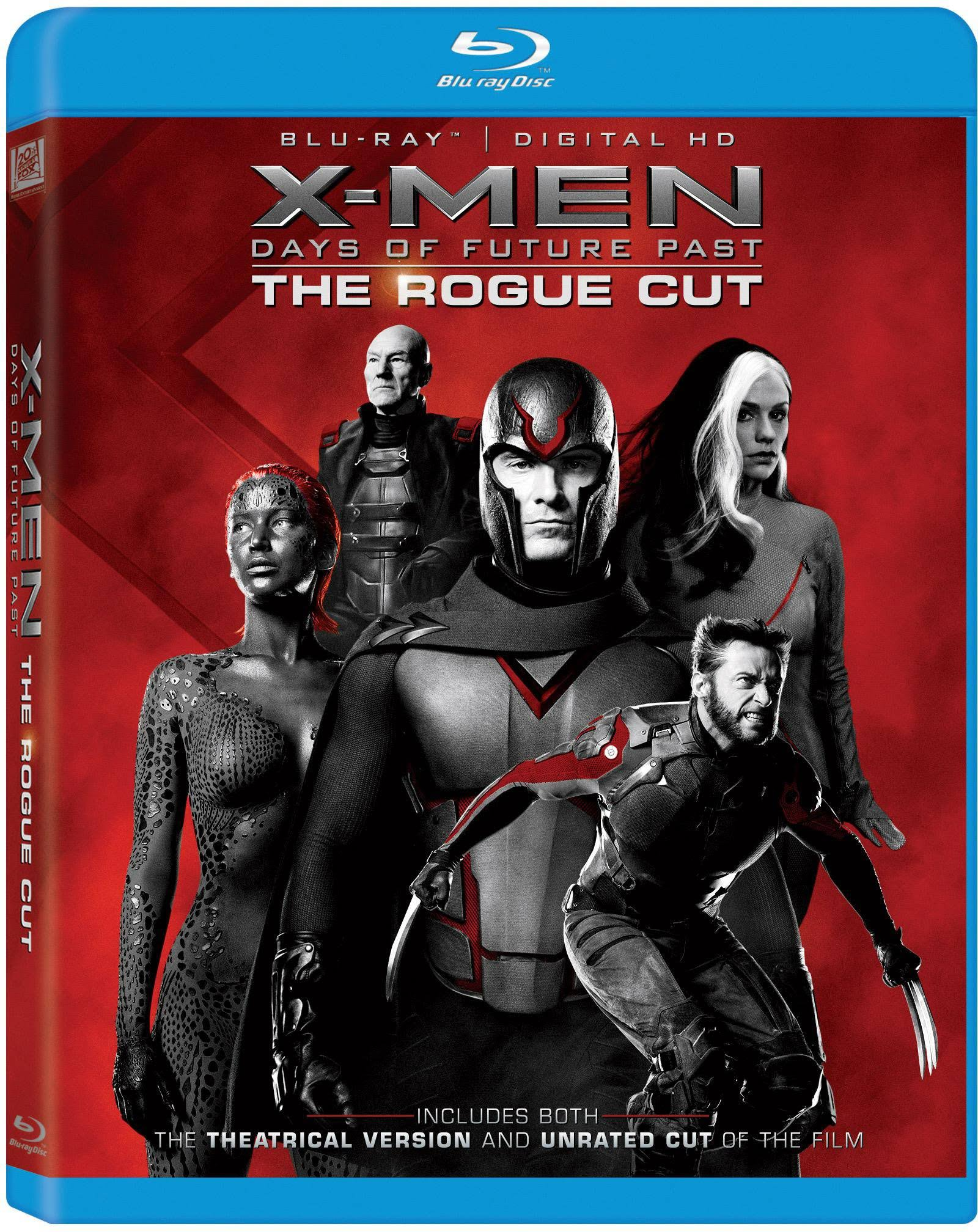 X-Men Days Of Future Past: The Rogue Cut Blu-Ray