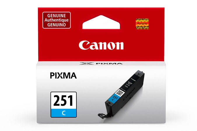 Canon CLI-251C Ink Cartridge - Cyan