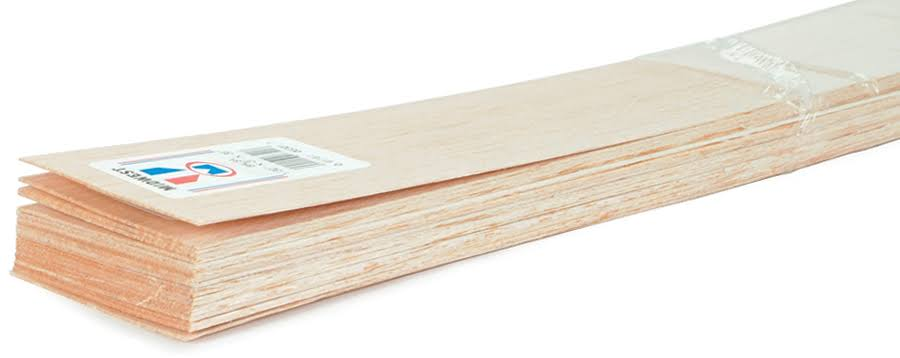 Midwest Balsa Wood - 1/4 in. x 3 in. x 36 in.