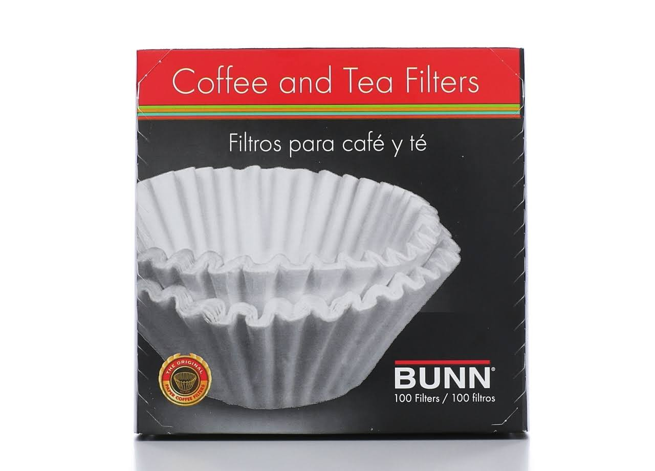 Bunn Coffee and Tea Filters - 100 Pack