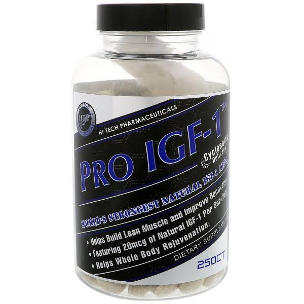 Hi-Tech Pharmaceuticals PRO-IGF from Whey Protein Isolate, 250 Tablets - New