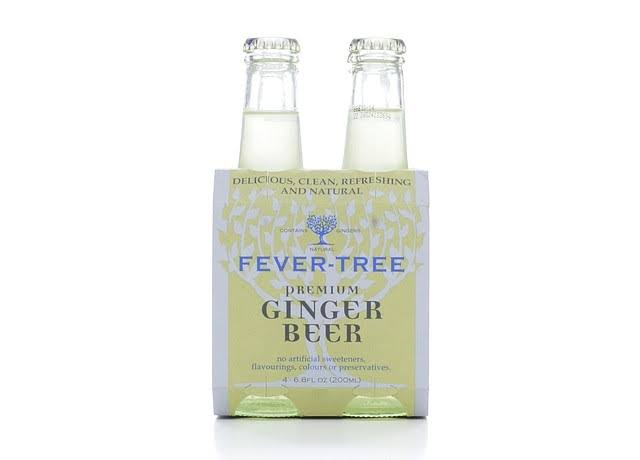 Fever-Tree Premium Ginger Beer - 4pk, 6.8oz