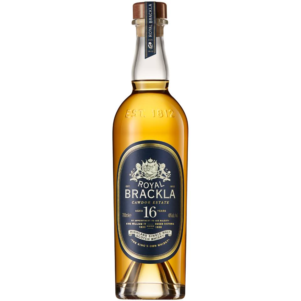 Royal Brackla Highland Single Malt Scotch Whisky - 700ml