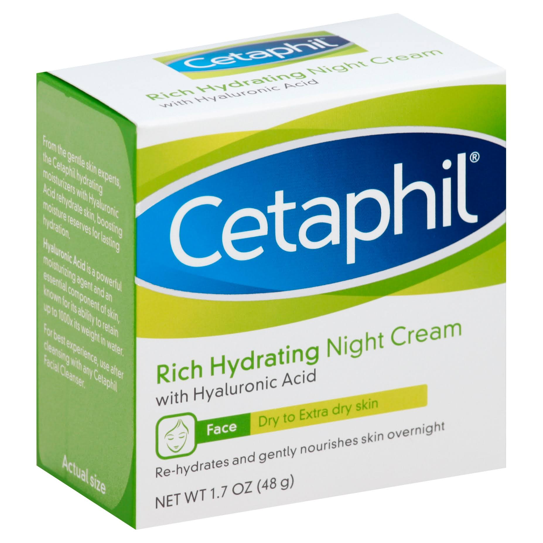 Cetaphil Rich Hydrating Night Cream - 1.7 Oz