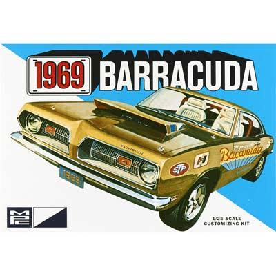 MPC 1969 Plymouth Barracuda Model Kit - 1/25 Scale