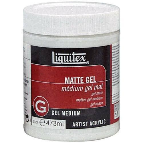 Liquitex Professional Matte Gel - Medium, 473ml