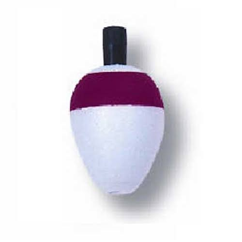 Betts Pear Foam Float 0.75' 100ct Red/White