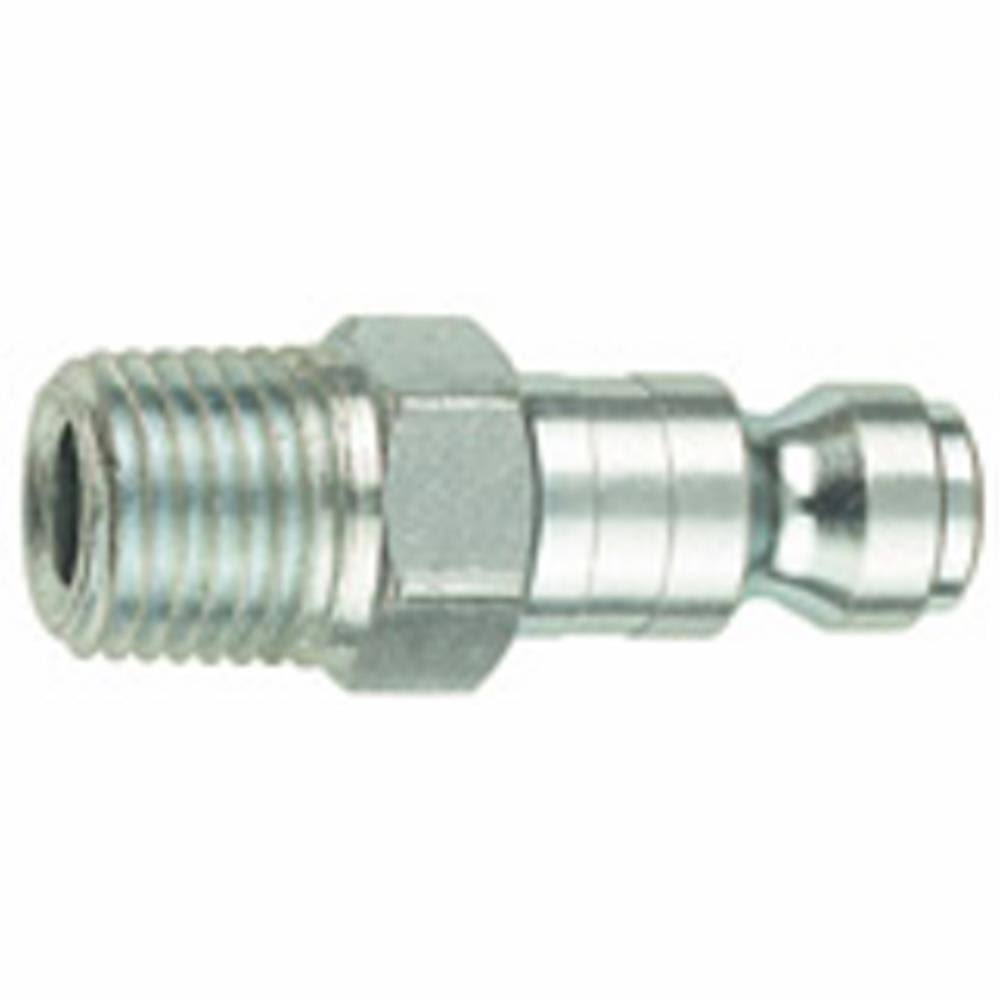 "Tru-Flate 1/4"" Male NPT Plug: Quick Connect Hose Fittings"