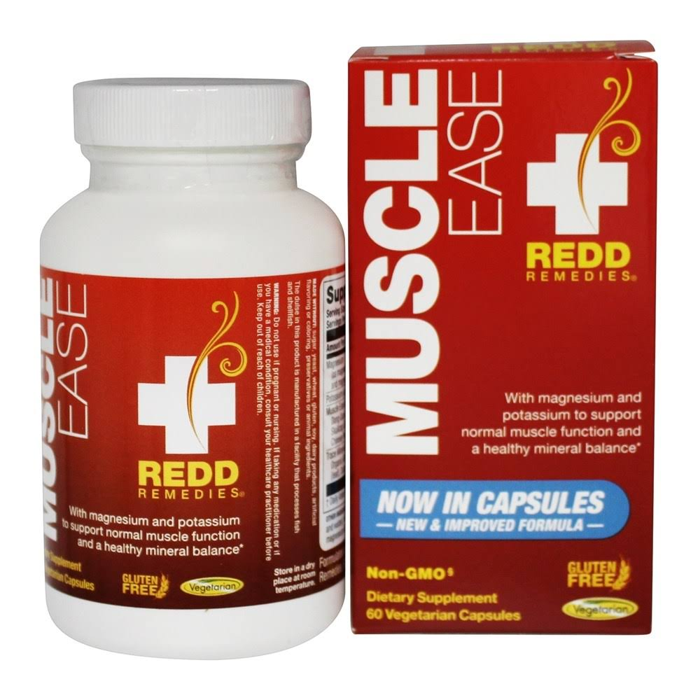 Redd Remedies Muscle Ease - 60 tablets