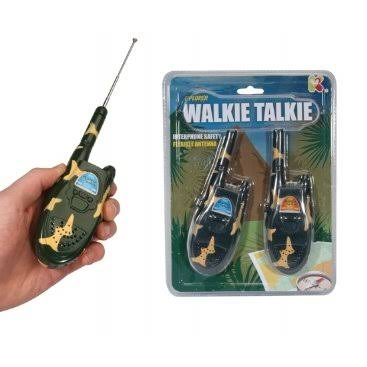 Camouflage Children's Walkie Talkies - Explorer Toy