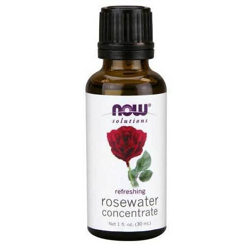 Now Foods Solutions Rosewater Concentrate - 1 fl oz bottle