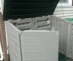 Rubbermaid Large Storage Shed Instructions by Modifying A Horizontal Storage Shed 5 Steps With Pictures