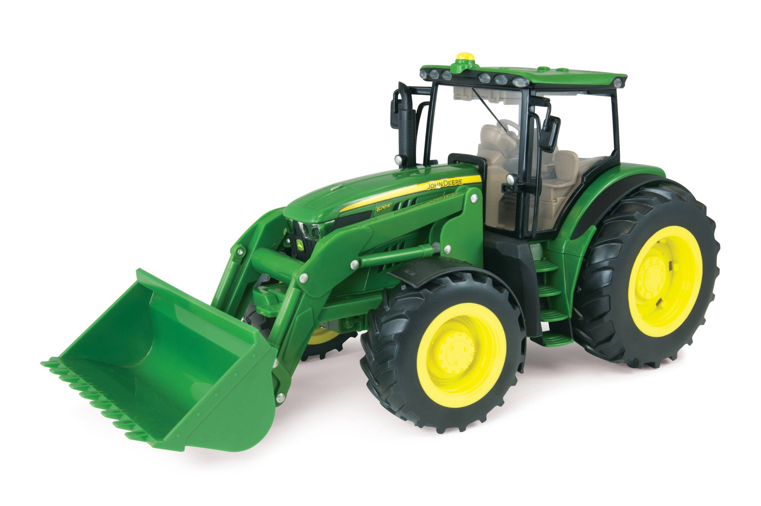 John Deere Tractor with Loader Vehicle Toy - 1:16 Scale