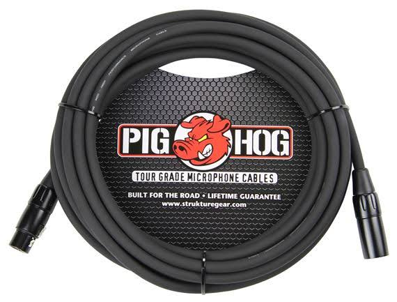 Pig Hog High Performance Microphone Cable - 25'