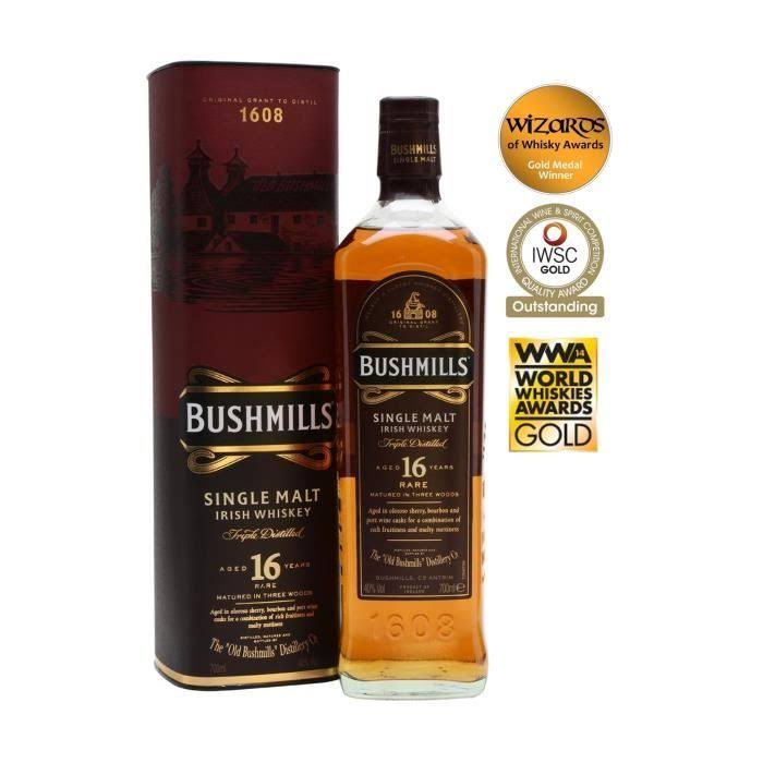 Bushmills Black Bush Malt Whisky - 700ml
