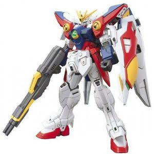 Bandai Hobby HGAC Wing Gundam Zero Model Kit - 1/144 Scale