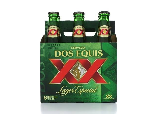 Dos Equis XX Special Lager Beer - 12oz, 6pk