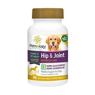 Petnol 409005 Level 3 Hip & Joint Chews Dog - 60 Count