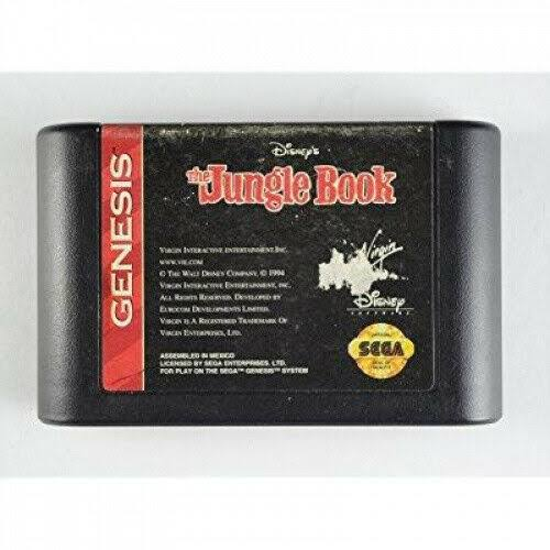 Sega The Jungle Book Genesis