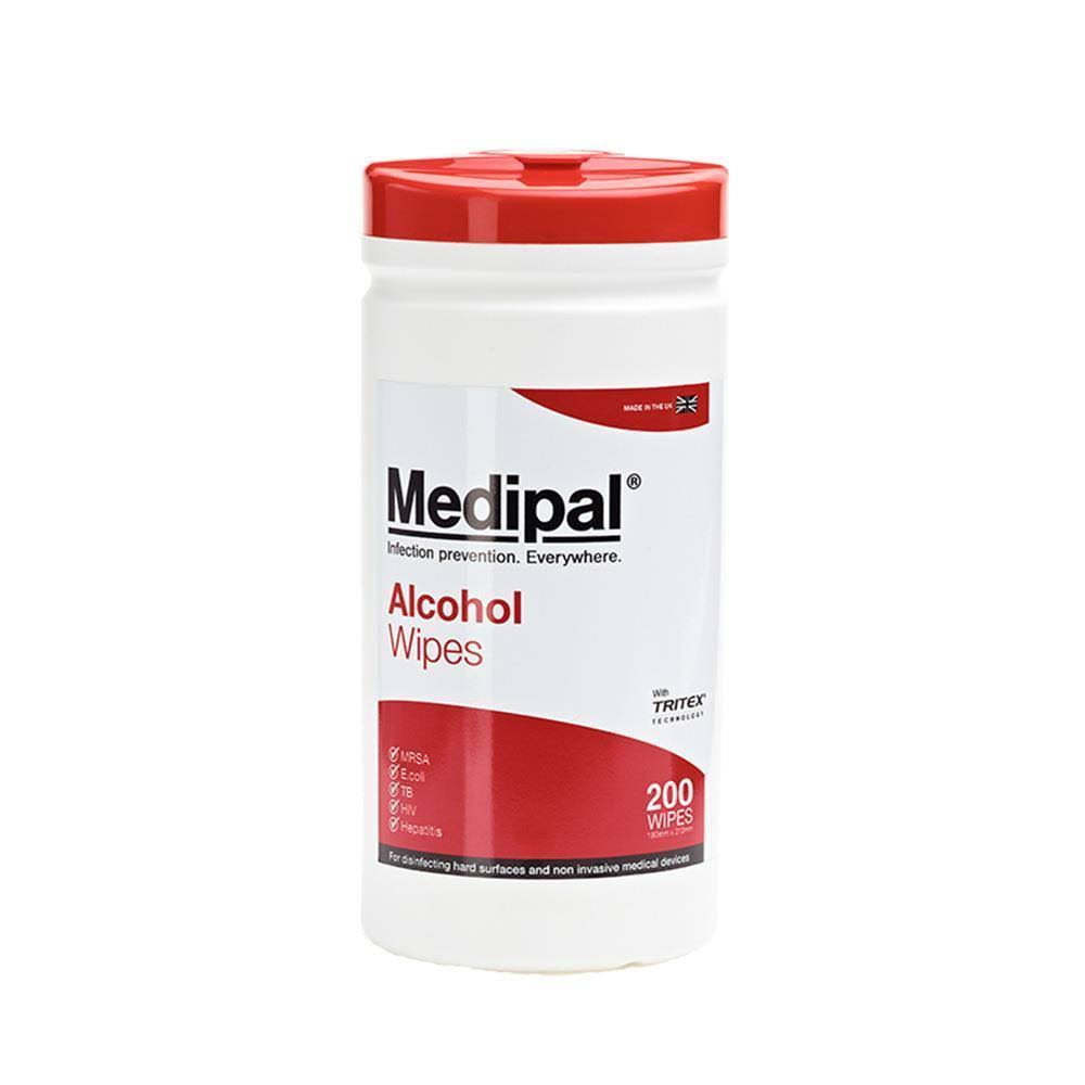 Medipal Disinfectant Alcohol Wipes (200 Wipes)