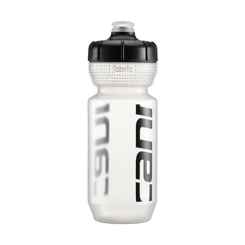 Cannondale Logo Cycling Water Bottle - Clear/Black, 600ml