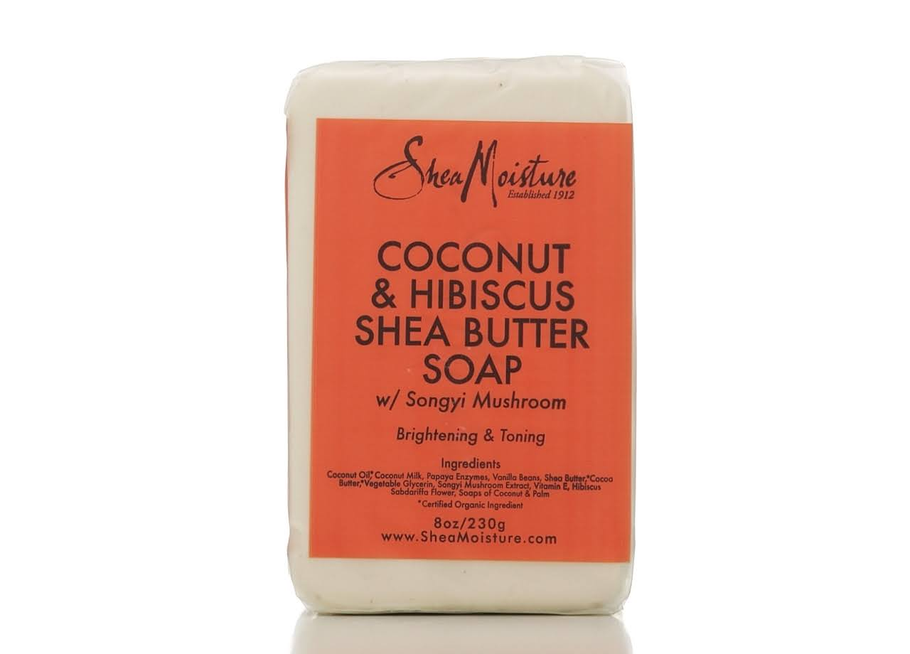 Shea Moisture Coconut and Hibiscus Shea Butter Soap - 8oz