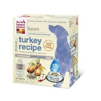 The Honest Kitchen Keen Dehydrated Dog Food Turkey - 10 lbs